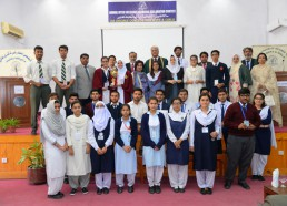 DHACSS Degree College - Participants with Haseena Moin